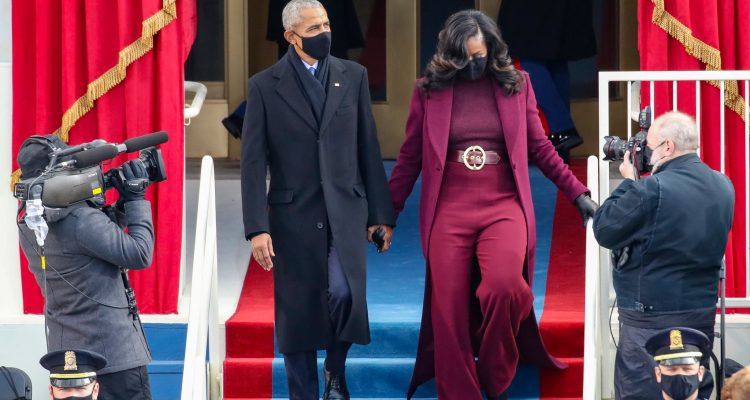 michelle obama outfit inauguration day 2021