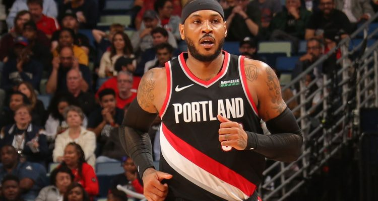 Carmelo Anthony on Bench Role in Portland: 'I had to swallow that pill'