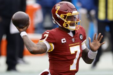 Washington Football Team Drops Dwayne Haskins During Playoff Chase