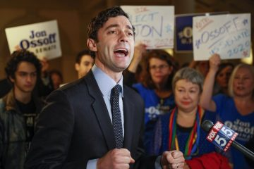 Jon Ossoff Accuses Kelly Loeffler of 'Campaigning With A Klansman'