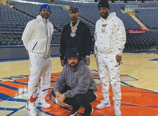 Dipset Drops Bars in MSG to Celebrate Kith and Knicks Collaboration