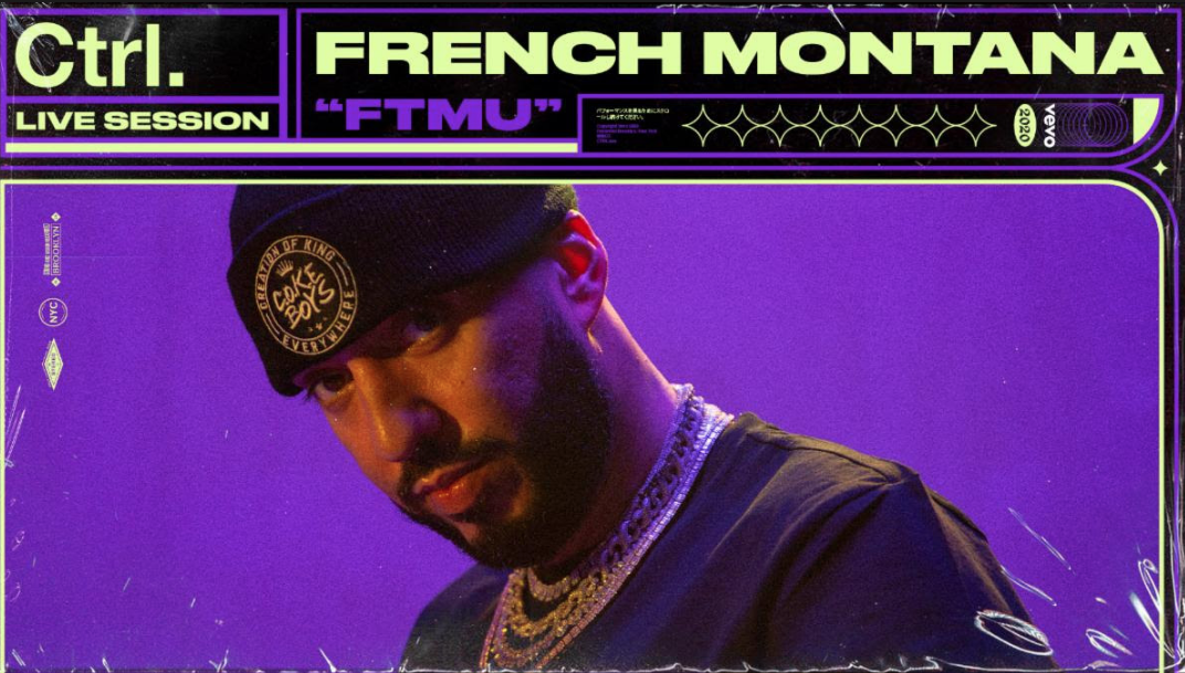 """French Montana and VEVO Release Performance Visuals for """"FTMU"""" for VEVO's Original Content Series"""
