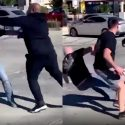Wack 100 Squares Up With Two Suspected White Supremacists