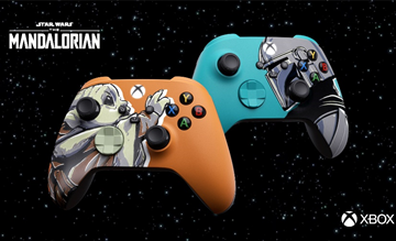 Xbox Unveils Two 'The Mandalorian' Inspired Custom Controllers