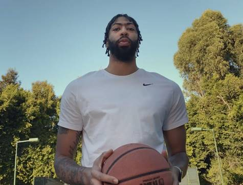 Anthony Davis Stars in NBA 'Only Here' Tip-Off Spot