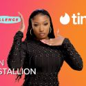 """Megan Thee Stallion and Tinder Team for """"Put Yourself Out There"""""""