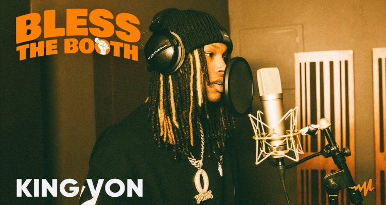 King Von Flexes His Skill in Audiomack's 'Bless The Booth' Freestlye