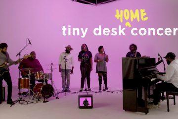 PJ Morton Returns to the NPR Tink Desk Concerts
