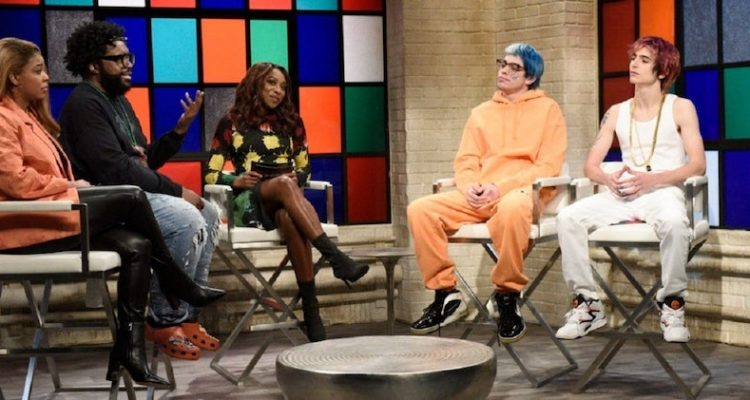 Questlove Appears In Hip Hop Roundtable Skit On Saturday Night Live Kristen wiig comes home for christmasthe snl pro brings tidings of comfort and joy to the last live show of an exceptionally tough year. questlove appears in hip hop roundtable