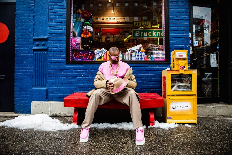 Slick Rick and Clarks Originals Team for Visual Project 'Mind-Body-Sole'