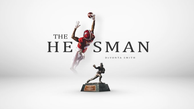 Devonta Smith Delivers a Great Message After Winning the Heisman Trophy