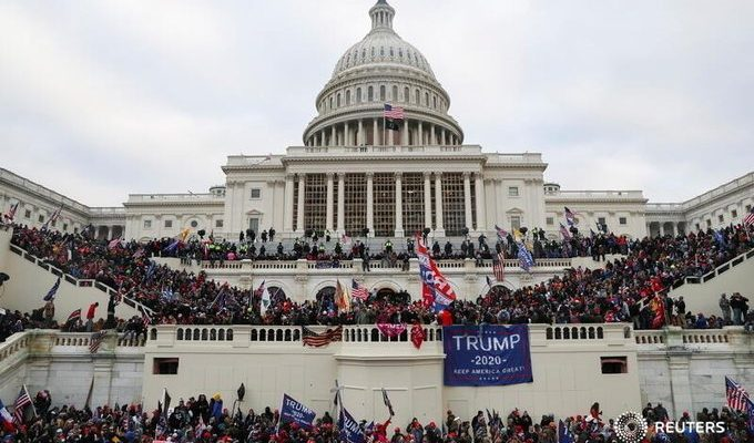 Mob of Rioters Storm Capitol Building in D.C. Stopping Electoral Vote Count