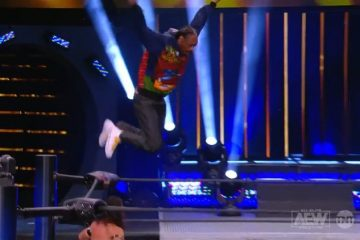 Snoop Dogg Dives From Top Rope in AEW Match