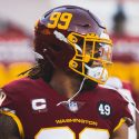 Chase Young Named NFC Defensive Player and NFL Defensive Rookie of the Month