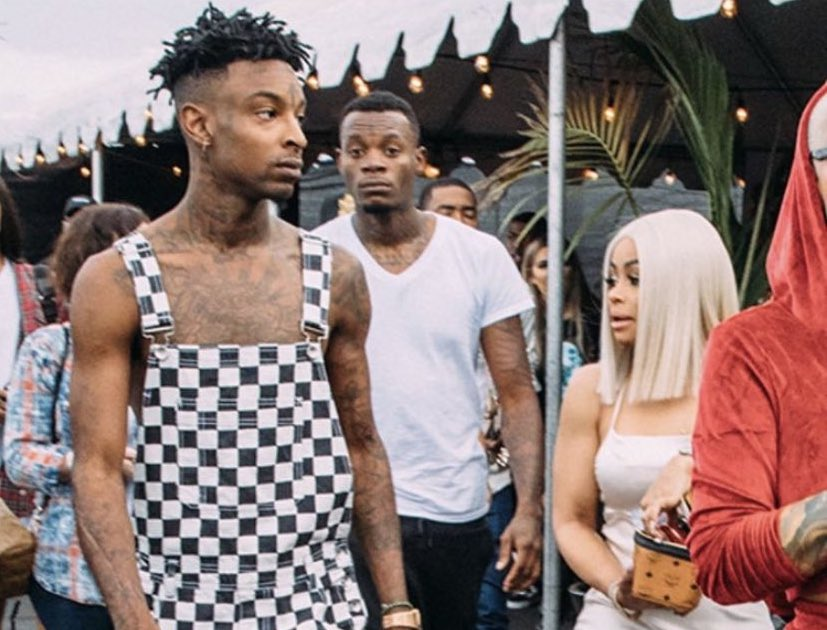 "Yung Bleu Compares 21 Savage's Outfit to ""101 Dalmations"""