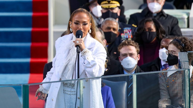 From Jennifer Lopez's Mash-Up to Jordan 1s: 6 Highlights From Inauguration Day