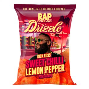 Rick Ross and Rap Snacks Announce Multi-Product Brand Partnership