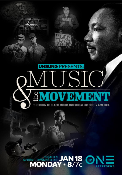 TONIGHT! Martin Luther King, Jr. Day Remembered In TV One Special 'Unsung Presents: Music & The Movement'