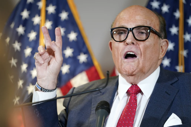Rudy Giuliani Hit With $1.3B Defamation Lawsuit Over False Election Allegations