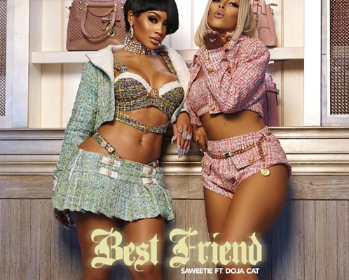 """Saweetie is gearing up for the release of her Pretty B*tch Music album and the latest preview is the club anthem """"Best Friend,"""" featuring Doja Cat."""