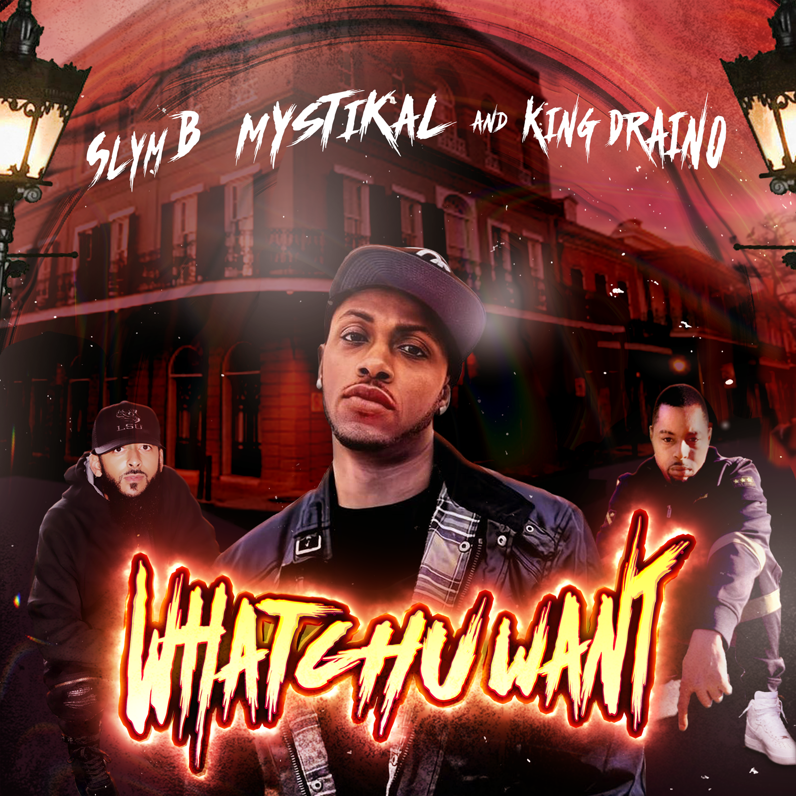 Slym B Links Up With Mystikal, and King Draino To Give You 'Whatchu Want'