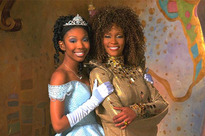 Black 'Cinderella' Movie With Brandy & Whitney Houston Sets For Disney+