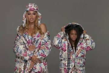 Blue Ivy Steals The Show in Icy Park Campaign