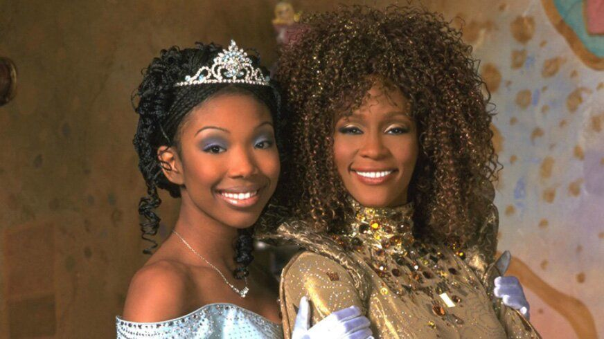 Brandy Emotionally Shares How Whitney Houston Changed Her 'Life Forever' While Filming Cinderella