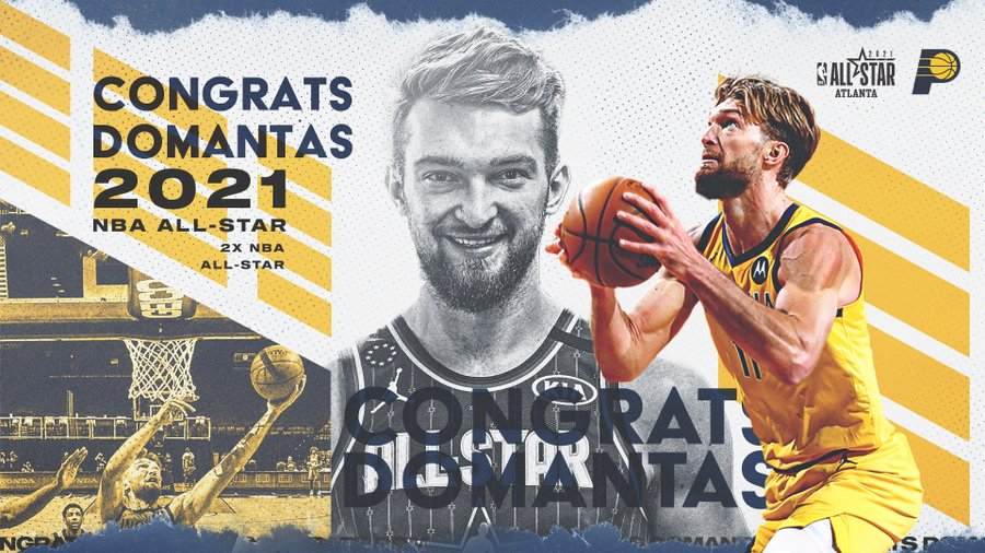 SOURCE SPORTS: Domantas Sabonis Selected as All-Star Replacement for Kevin Durant