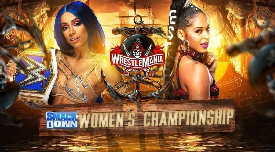 SOURCE SPORTS: Bianca Belair vs Sasha Banks at Wrestlemania Will Be First World Title Match Between African-American Wrestlers in History