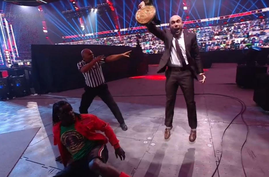 SOURCE SPORTS: Peter Rosenberg Wins The 24/7 Championship At WWE Royal Rumble