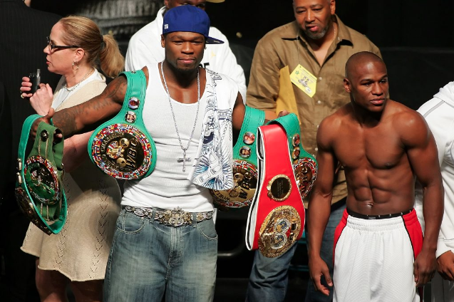 SOURCE SPORTS: Floyd Mayweather Accepts 50 Cent Boxing Match