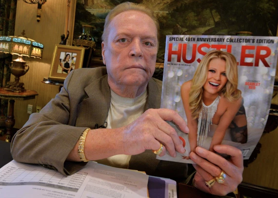 Hustler Magazine Founder Larry Flynt Dead At 78