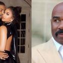 Steve Harvey Shares His Thoughts on Lori Harvey and Michael B. Jordan's Valentine's Day
