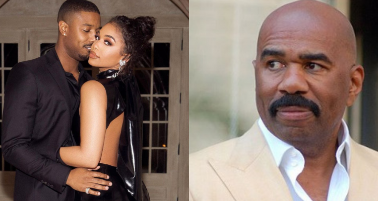 Steve Harvey Shares His Thoughts on Lori Harvey and Michael B. Jordan's Valentine's Day