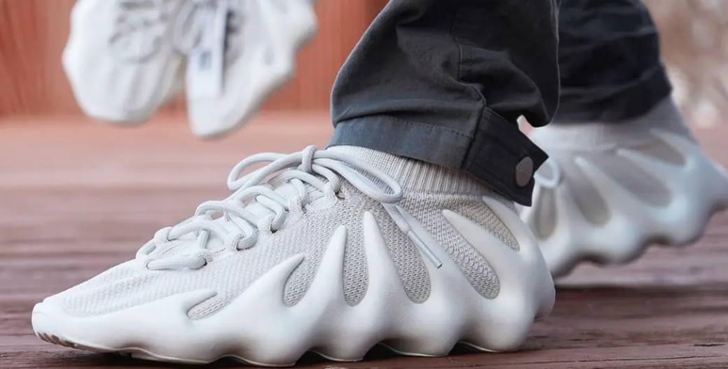 Kanye's New Yeezy 450 Cloud Whites Sell Out In Under A Minute