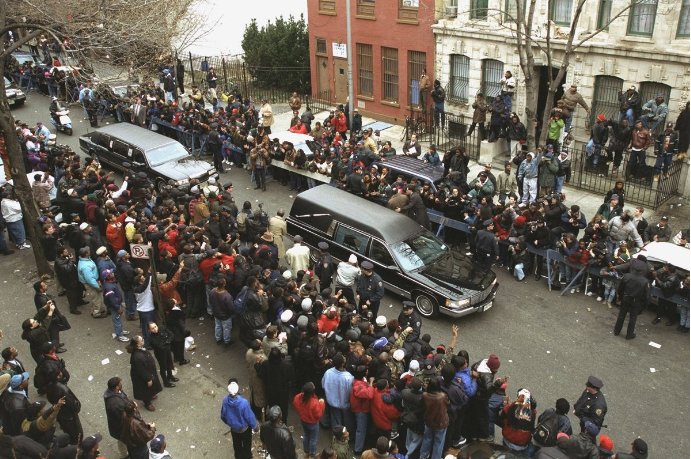 The Source |Today In Hip Hop History: Notorious B.I.G. Is Laid To Rest, Epic Funeral Procession Held In Hometown Of Bed-Stuy 24 Years Ago