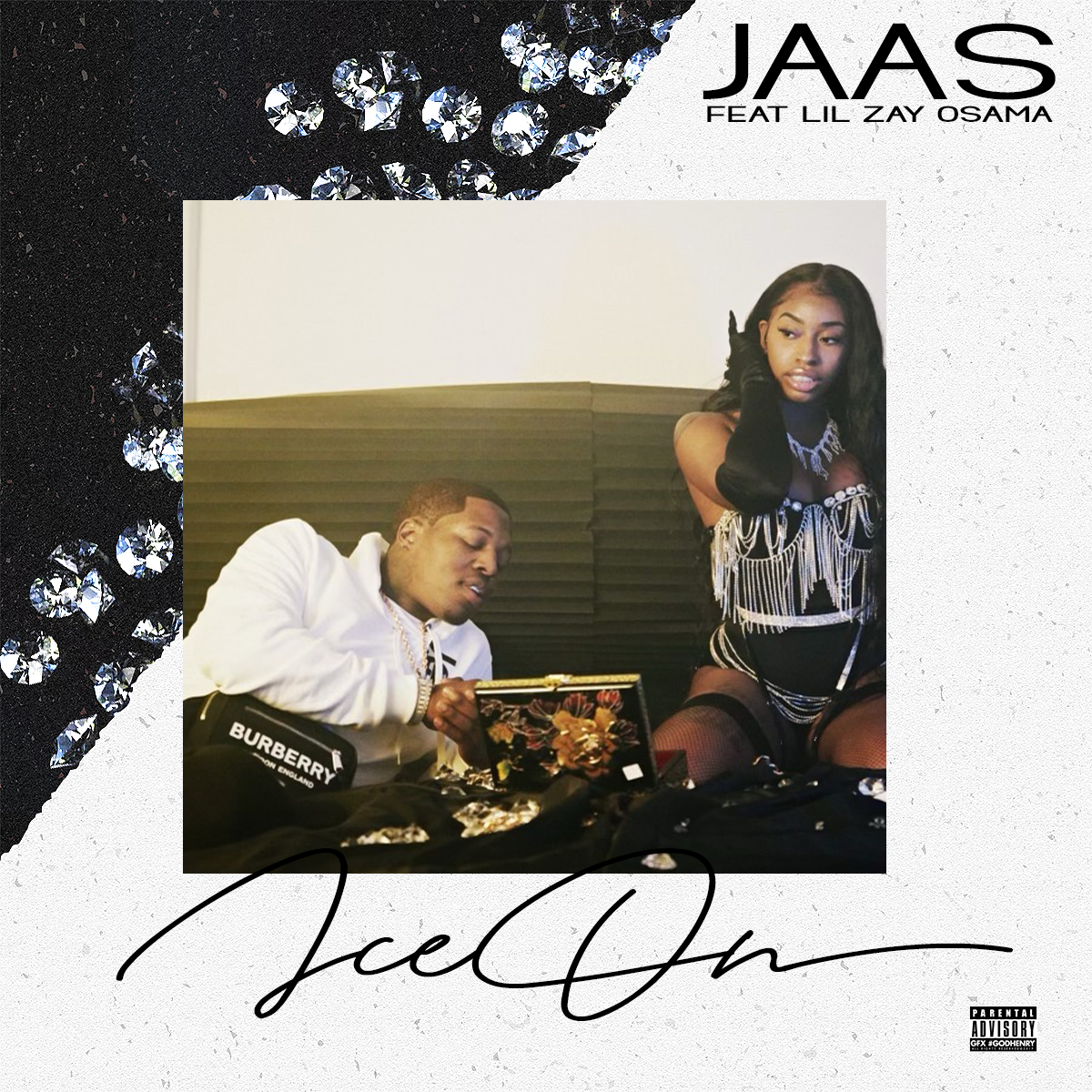 """Jaas and Lil Zay Osama Connect for """"Ice On"""""""