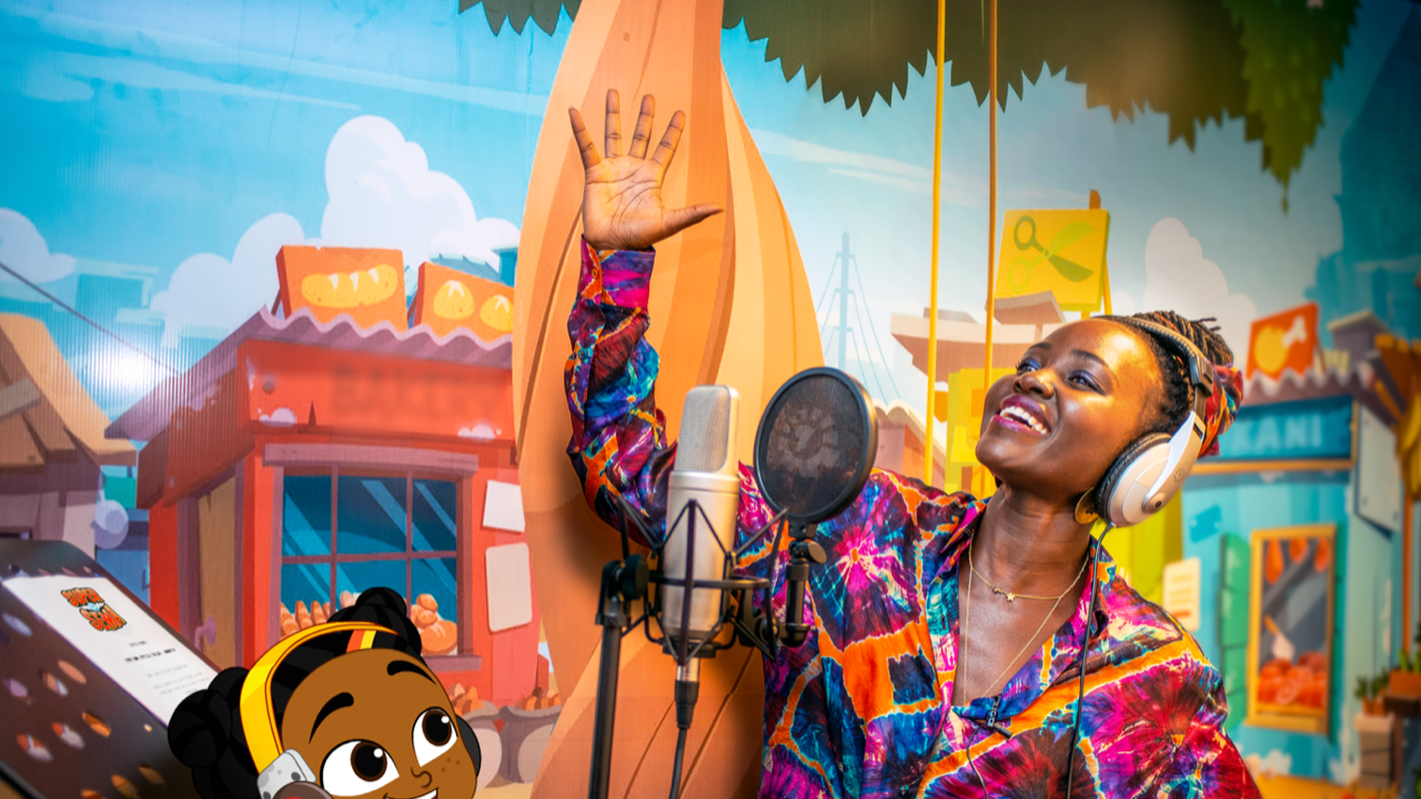 [WATCH] Lupita Nyong'O Voicing Her Role as Mama Dunia in YouTube Original Series