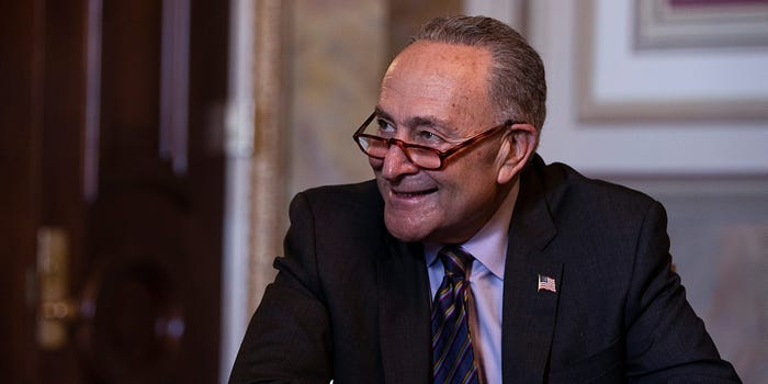 Senate Leader Schumer Wants Cannabis To Be Decriminalized Federally by 4/20 Next Year