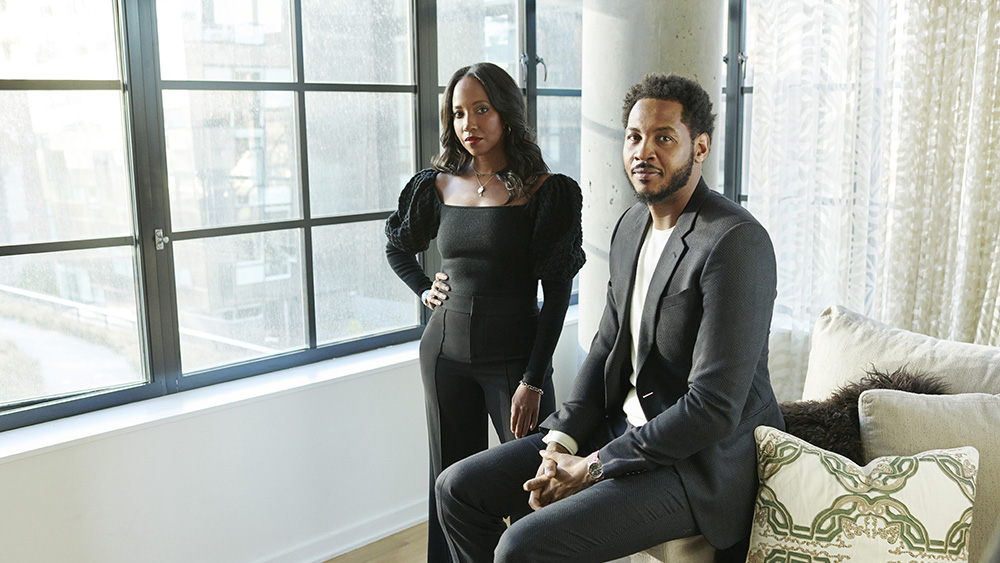 Carmelo Anthony Teaming with Asani Swann to Launch Creative 7 Content Company