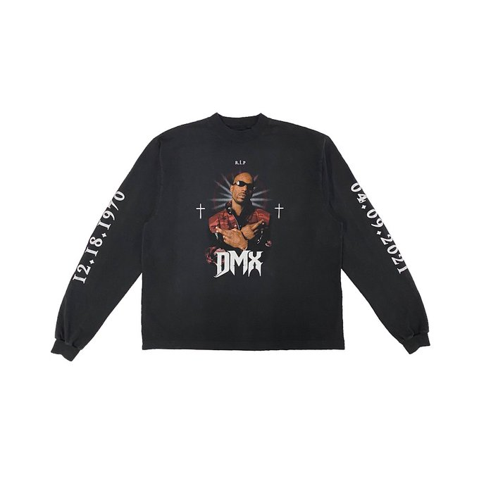 Kanye West Teams with Balenciaga for DMX Tribute Shirt, All Proceeds Went to X's Family