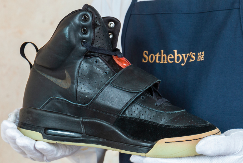 "Kanye West's ""Grammy Worn"" Nike Air Yeezy 1 Prototypes Sell For $1.8M"