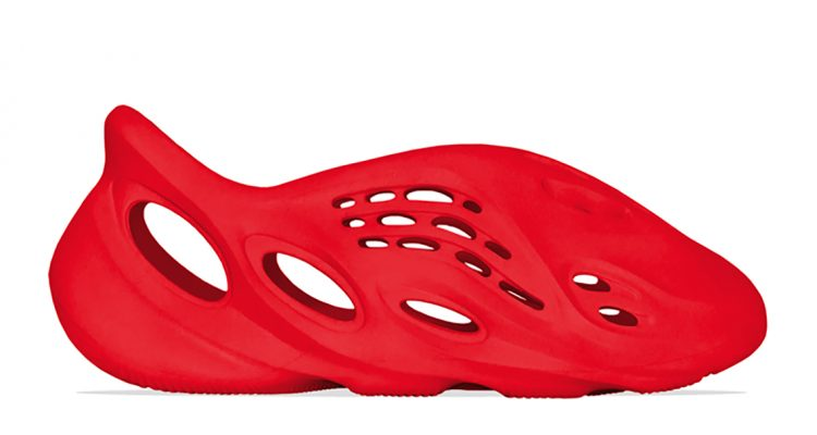 """adidas First All-Red Yeezy to be the Foam Runner """"Vermillion"""""""