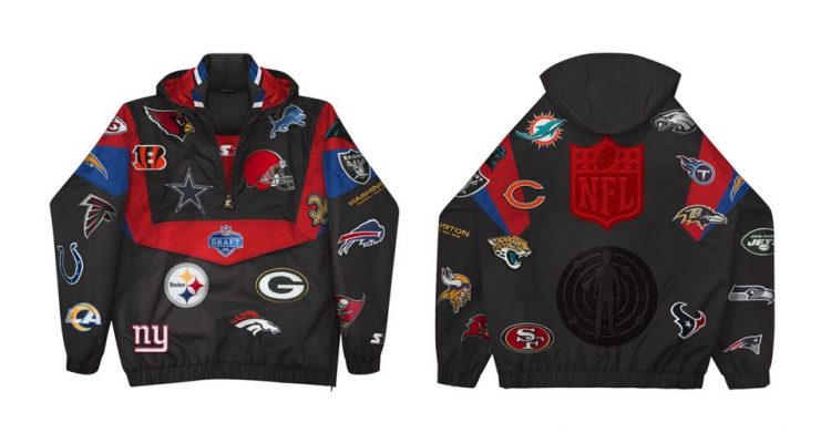 https hypebeast.com image 2021 04 Kid Cudi Teams Up With the NFL for Patch Adorned Draft Week Starter Jacket A