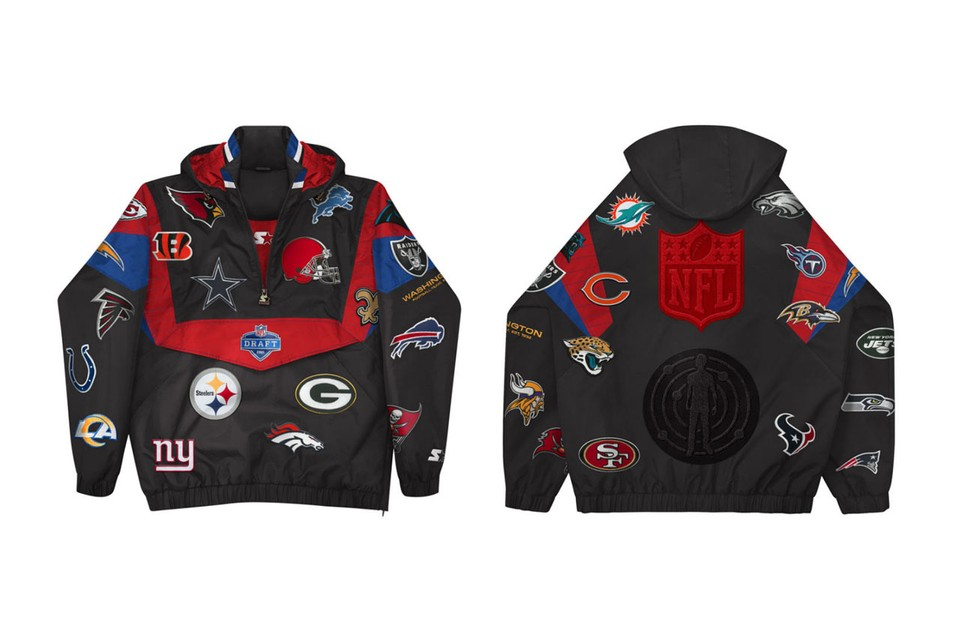 Kid Cudi & NFL Share Limited-Edition Starter Jacket To Commemorate 2021 Draft