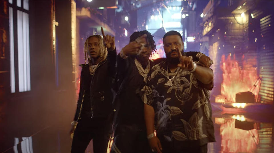 """[WATCH] DJ Khaled Joined by Lil Baby and Lil Durk for """"Every Chance I Get"""" Video"""