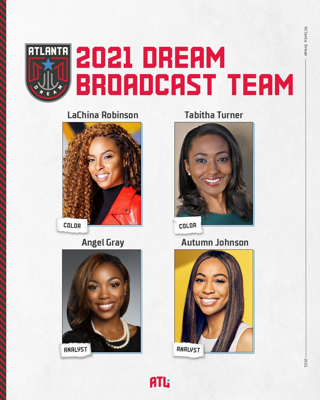 SOURCE SPORTS: WNBA's Atlanta Dream To Have All Black Female Broadcast Team During Home Games This Season