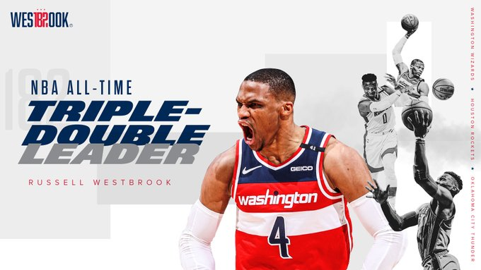 SOURCE SPORTS: Russell Westbrook Breaks Oscar Robertson's Triple-Double Record