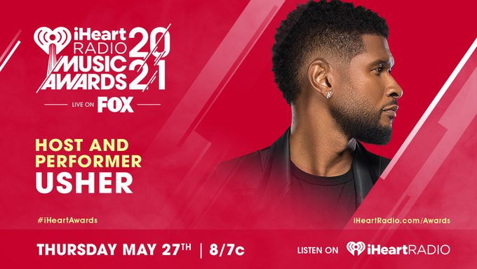 Usher to Host 2021 iHeartRadio Music Awards